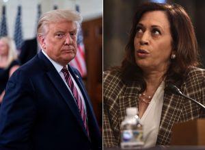Donald Trump donó dinero para campañas de Kamala Harris, posible vicepresidenta de Biden