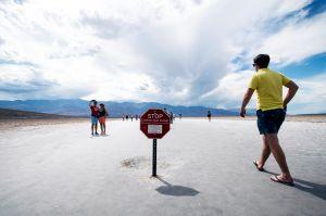 Valle de la Muerte registró 54.4º C el domingo y sería la mayor temperatura registrada desde 1913