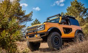El Ford Bronco 2021 intenta subir los rocosos caminos del Rubicon Trail