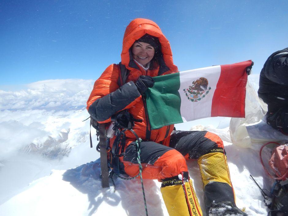 Viridiana Álvarez a los Récords Guinness: la mexicana que aprendió montañismo en You Tube es una estrella