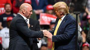 """Dana White, el presidente de UFC, resultó más """"trumpista"""" que Trump"""
