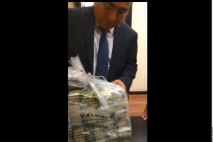Difunden video sobre presuntos sobornos a exasesores del Senado en México