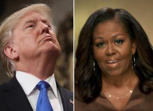 Trump enfurece con Michelle Obama y responde a sus críticas
