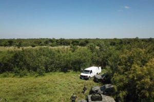 FOTOS: Ejército mexicano abate a 9 narcos a orillas del río Bravo, cerca de frontera con EE.UU.