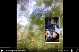 FOTOS: Sicarios del Cártel del Golfo atacan a policías, les responden y abaten a uno de los matones