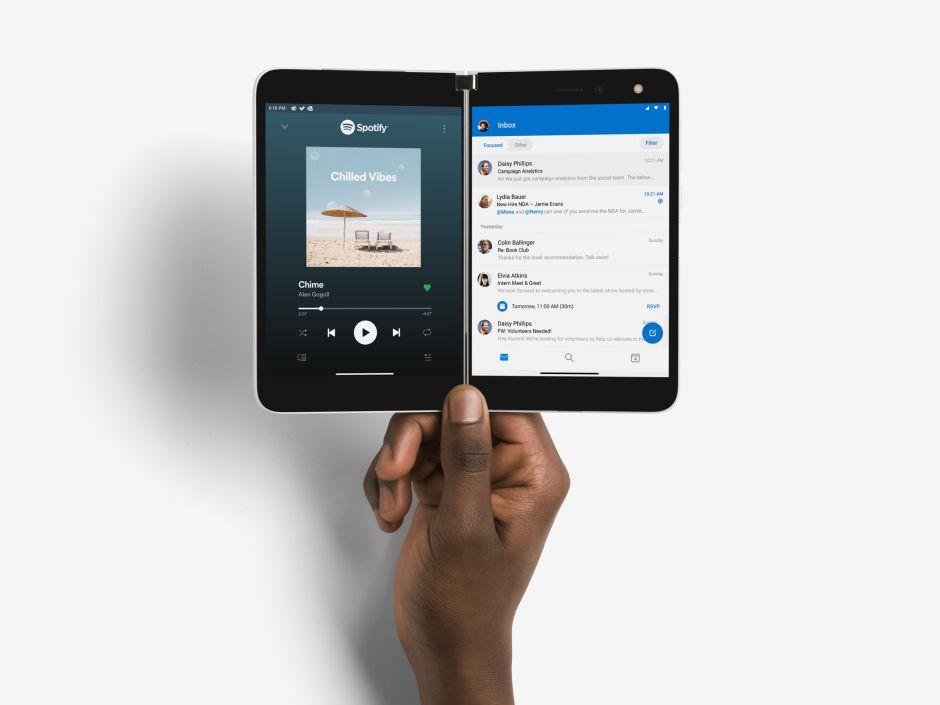 Surface Duo de Microsoft hace su gran debut