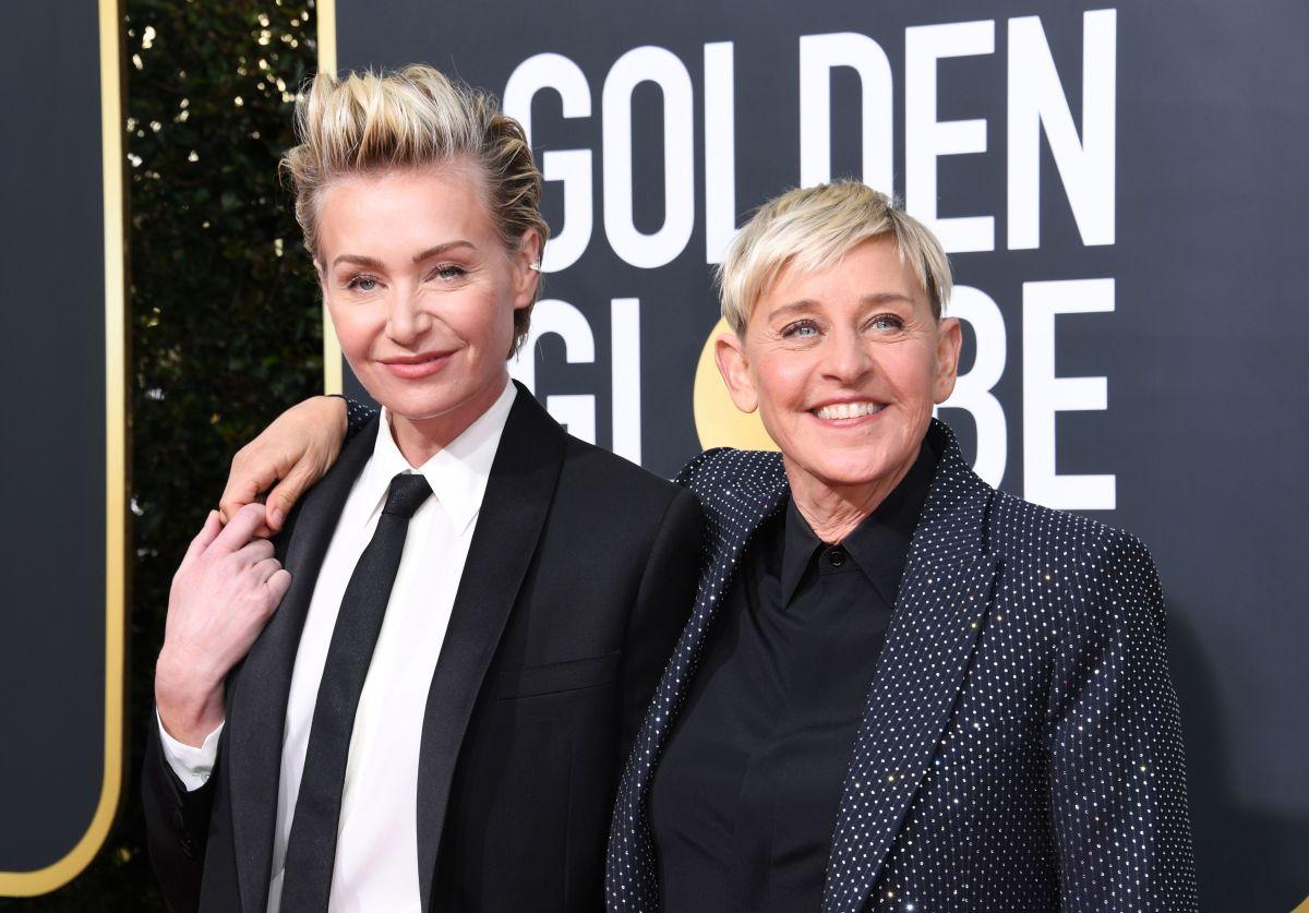 Ellen DeGeneres revela que consumió marihuana la noche que su esposa tuvo que ser hospitalizada de emergencia