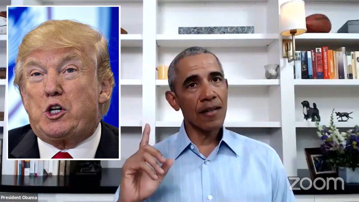 Obama acusa a Trump de usar la presidencia como un 'reality show' y deshonrar la democracia