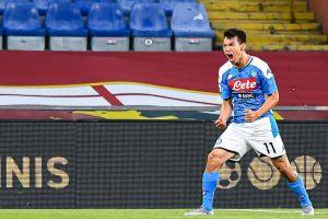 VIDEO: Napoli masacra 11-0 a L'Aquila en partido amistoso, Chucky Lozano anotó dos goles