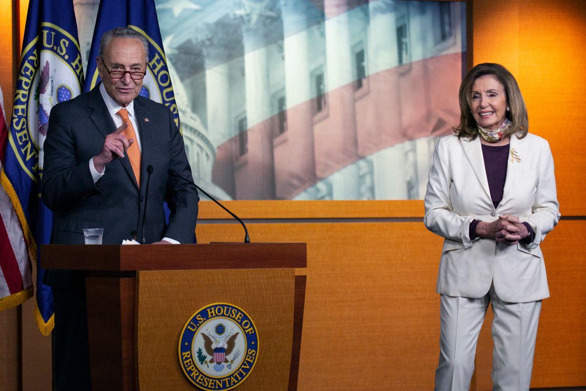 Demócratas presionan por bono de $600 a seguro de desemplo en paquete de estímulo