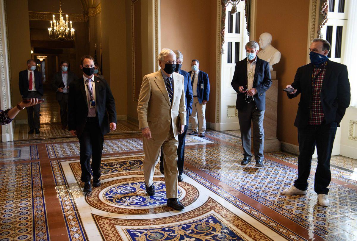 En dónde se quedaron las conversaciones del cheque de estímulo ahora que el Senado entró oficialmente en receso