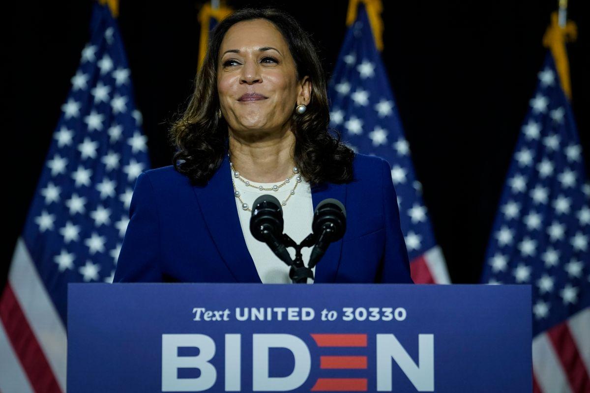 Designación de Kamala Harris ayuda a Biden a ganar votantes latinos