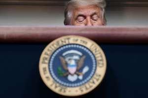"""Video: Preguntan en directo a Trump si """"se arrepiente de todas sus mentiras"""""""