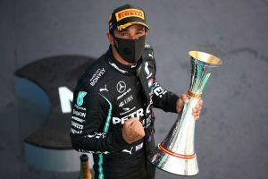 ¡Leyenda viviente! Lewis Hamilton se convierte en el piloto con más podios en la historia de la F1