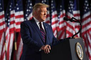 Trump acepta formalmente la nominación republicana en medio de protestas por la justicia racial