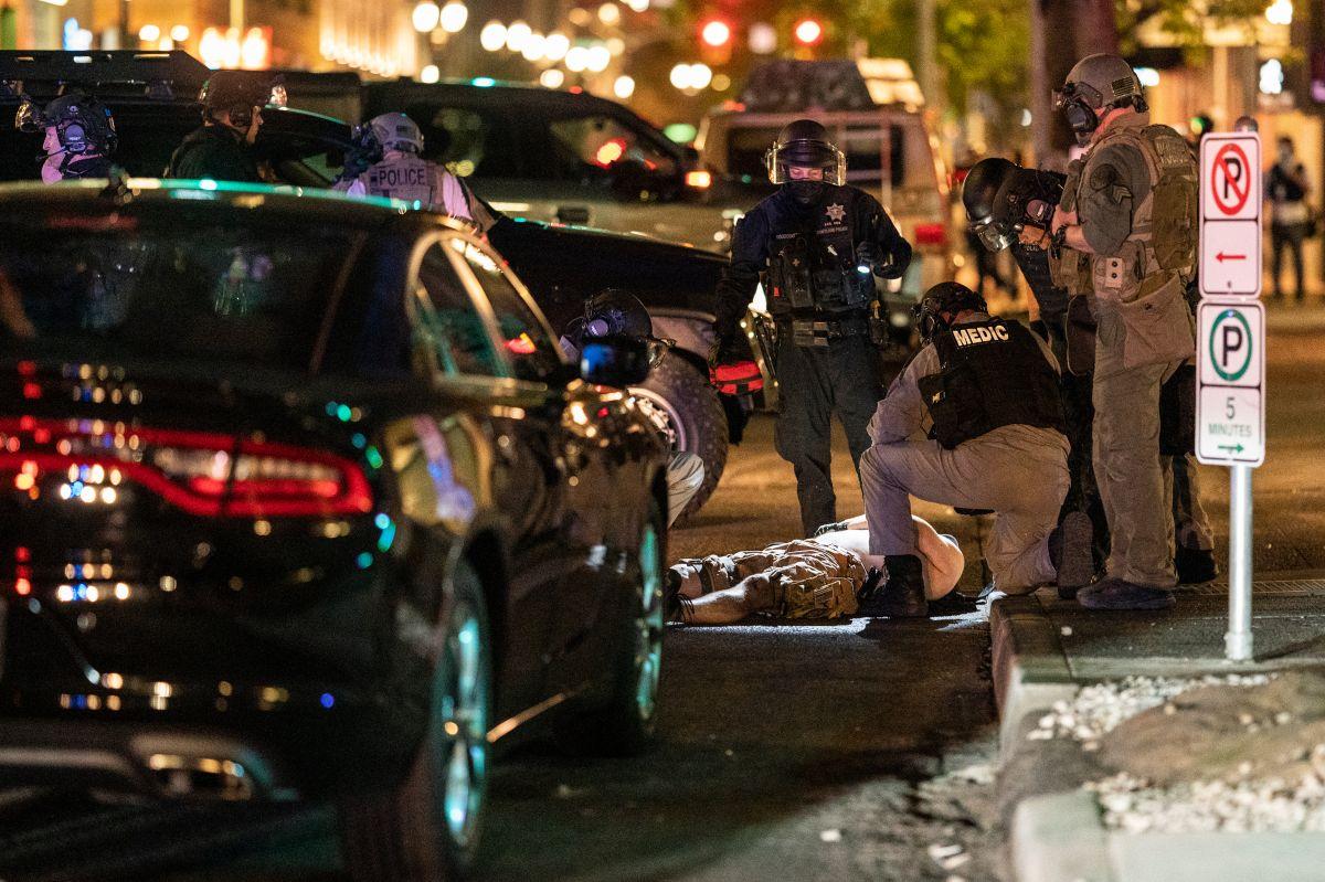 """Aaron """"Jay"""" Danielson, del grupo supremacista """"Patriot Prayer"""", murió de un disparo en Portland."""