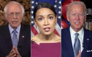"""""""Empujaremos a Biden"""" más hacia la izquierda en inmigración y política exterior:  Ocasio Cortez"""