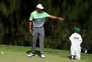 Igual que su padre: Hijo de Tiger Woods gana cómodamente torneo infantil de golf