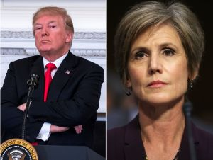 """Exfiscal Sally Yates critica a Trump: """"Ha utilizado su cargo para beneficiarse a sí mismo"""""""