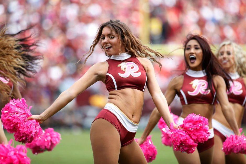 El equipo de Washington de la NFL habría grabado en secreto a sus porristas semidesnudas