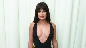 Lea Michele presume por primera vez a su bebé recién nacido en redes