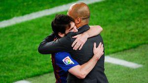 Pep Guardiola está en Barcelona y no se regresará sin Messi