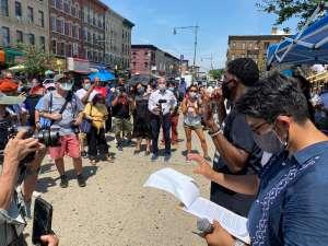"""En Brooklyn instan a registrarse al Censo 2020 con """"Marcha por la Justicia Social"""""""