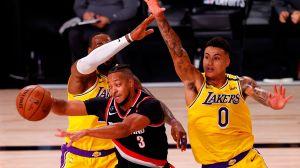 Bucks y Lakers, los No. 1 de los playoffs, inician sus series con derrotas