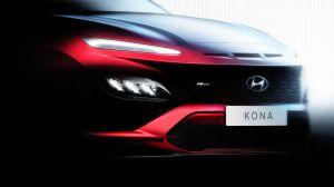 Hyundai lanzo un avance de lo que sería un trio de Kona