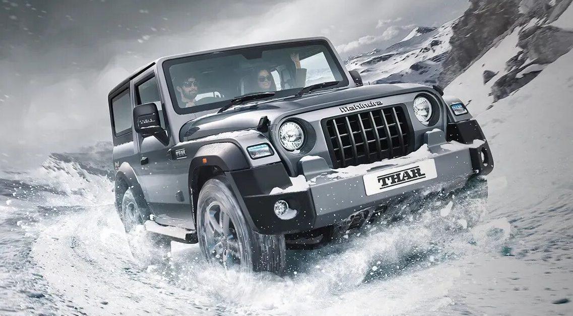 Así es como luce el Mahindra Thar, la copia descarada del Jeep Wrangler