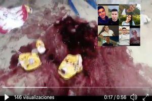 Masacre de jovencitos, al menos 8 fueron asesinados por un grupo armado