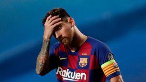 """Messi: El """"Pequeño Dictador"""" haciendo un berrinche más"""