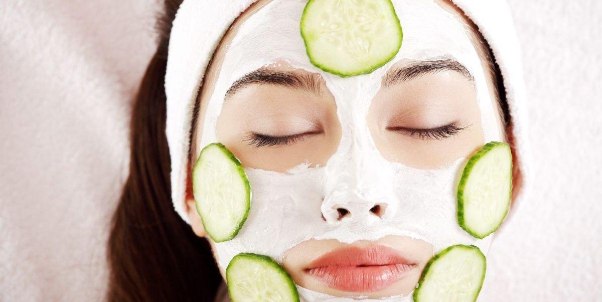 Mascarilla de pepino y miel para mantener tu rostro hidratado