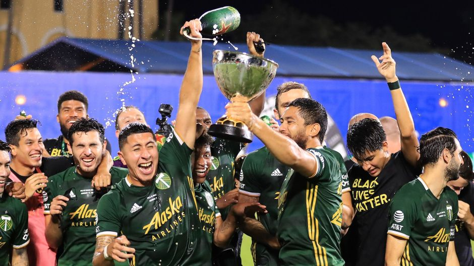 Portland Timbers son los campeones de MLS is back