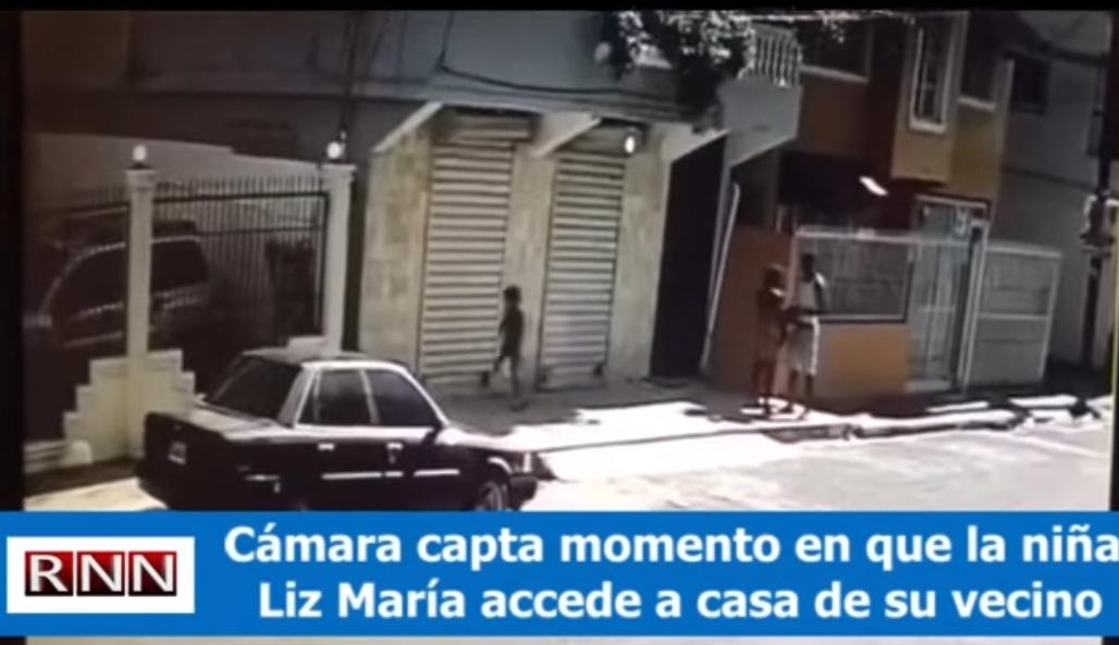 Imágenes de vigilancia de Liz María entrando a la vivienda de su presunto asesino son parte de la prueba en el caso.