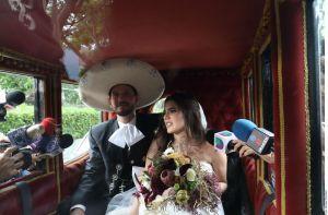 Un fatal error arruinó la entrada soñada de Camila Fernández a su boda