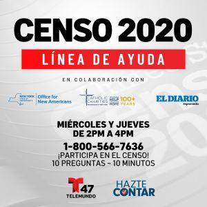 Visitas domiciliarias del Censo 2020 arrancarán en la Gran Manzana esta semana