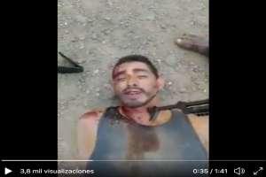 """VIDEO: """"Nos traen a morir"""", dice sicario de Los Viagras, le pagaron $134 dólares por luchar con CJNG"""