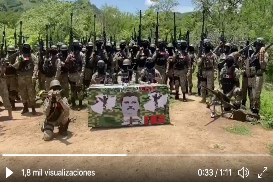 """VIDEO: """"Soy Mencho, mi guerra es en contra…"""" así comienza la temible amenaza del CJNG"""