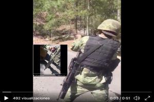 VIDEO: Brazo armado del Cártel de Sinaloa muestra las poderosas armas que posee
