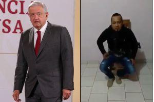 """AMLO pide a jueces aplicar la ley en el caso de """"El Marro"""" y no dejarse corromper"""