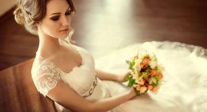 5 estilos de vestidos de novia sencillos que puedes usar si tendrás tu boda en casa