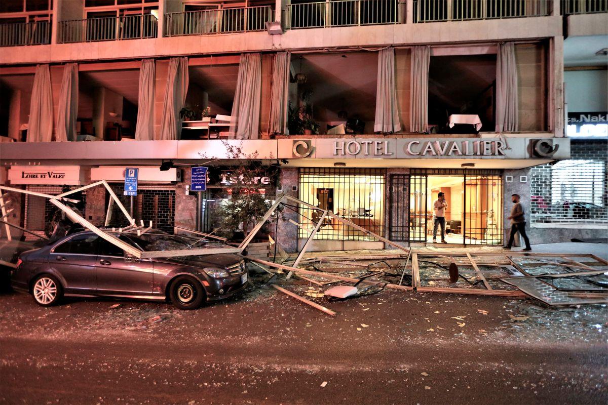 Explosión en Beirut fue causada por nitrato que fue confiscado