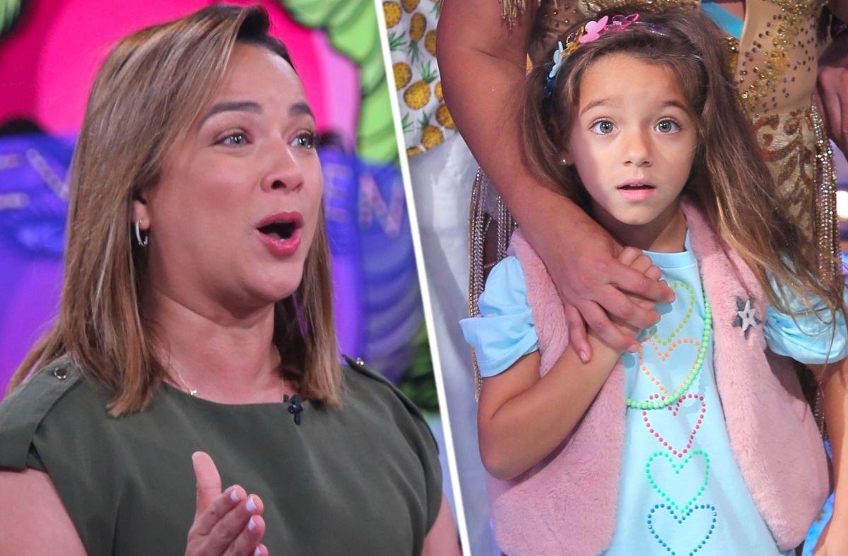 Un Nuevo Día publica foto de Adamari López de niña y el público se impacta con el parecido a su hija, Alaïa