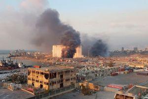 VÍDEO: Novia se tomaba fotos cuando la explosión en Beirut causó decenas de muertos