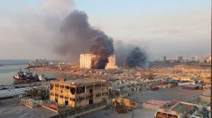 VIDEOS: impresionante explosión en el Líbano destruye todo a su alrededor