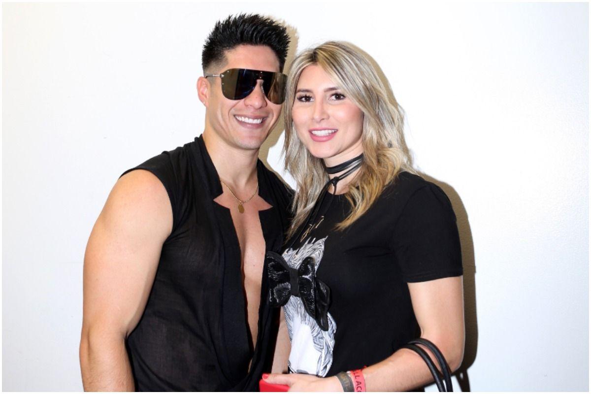 El hijo de Chyno y Natasha Araos aprendió a caminar en su apartamento de Miami.
