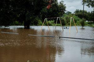 Imágenes aéreas muestran inundaciones provocadas por huracán Laura en Texas