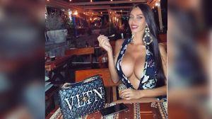 Soraja Vucelic, ex novia de Neymar, presume fotografía con un escote que no deja nada a la imaginación