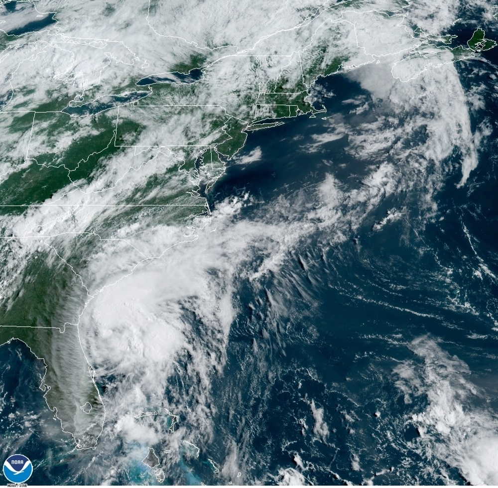 Se espera mucho viento y lluvia por Isaías en Nueva York